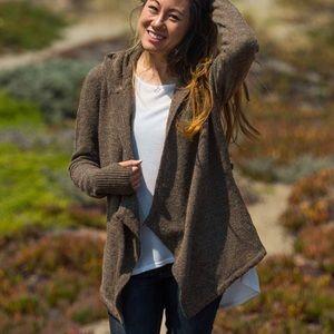 Betabrand • Black Sheep Wrap Sweater